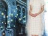 旗袍-17-白方格旗袍