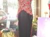 旗袍-28-紅葉黑旗袍
