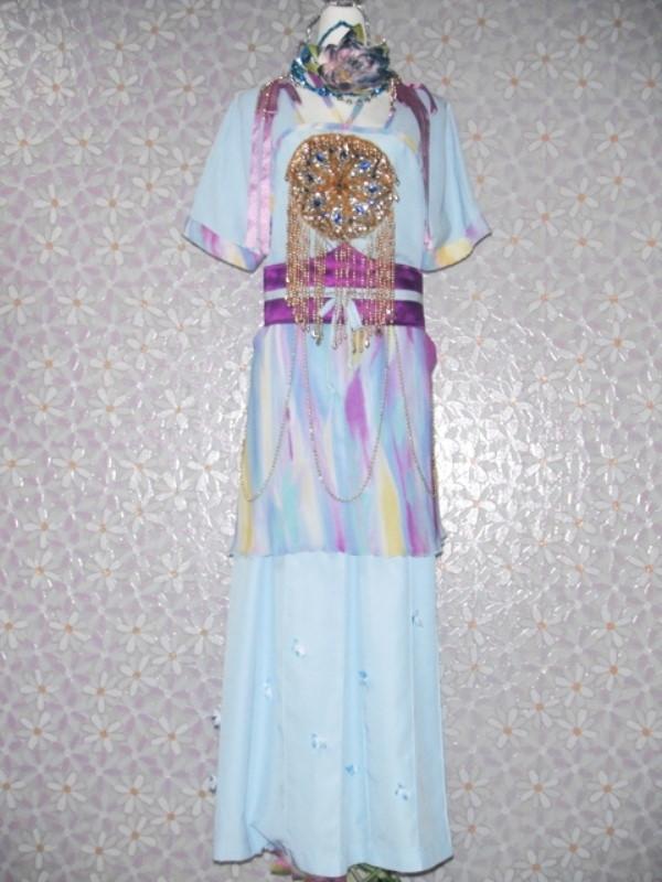 古裝-12-藍紫彩衣古裝