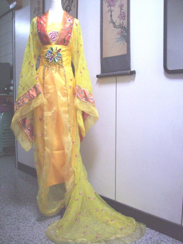 古裝-69-鵝黃唐朝貴妃