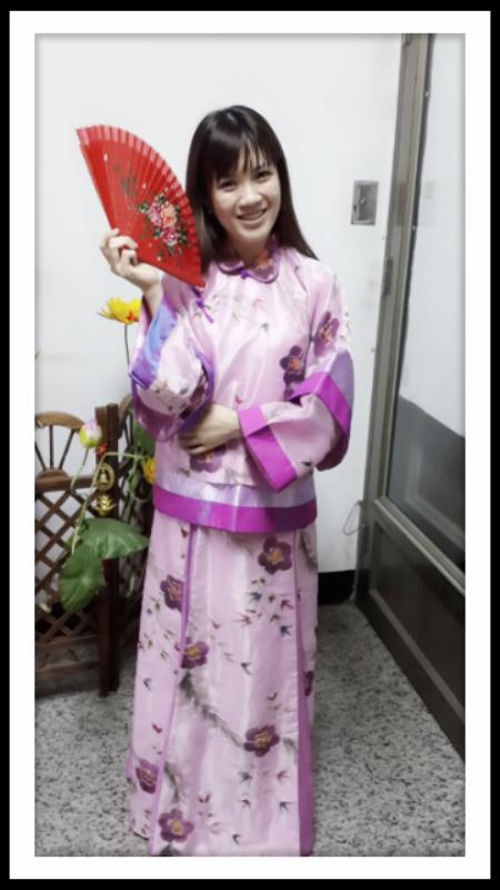 古裝-93-紫花鳳仙