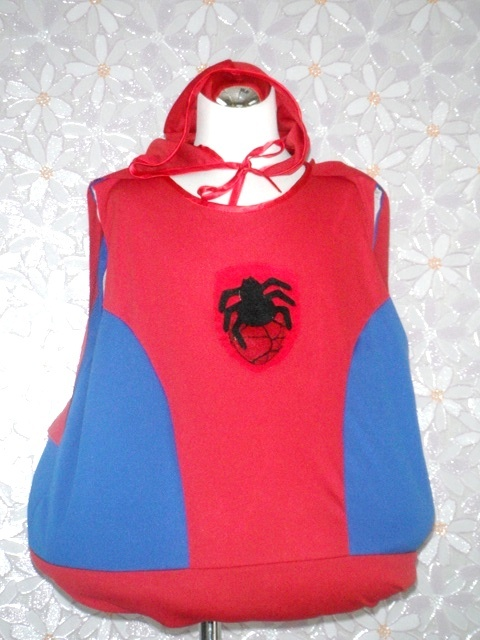 萬聖節-23-蜘蛛人裝