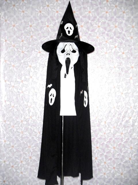 萬聖節-8-死神裝