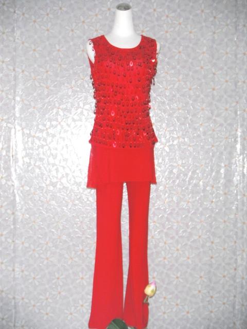 特殊-17-紅亮片舞衣