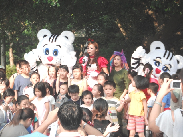 高雄壽山動物園白老虎宣傳活動