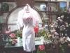 旗袍-31-粉牡丹旗袍(粉球披肩)