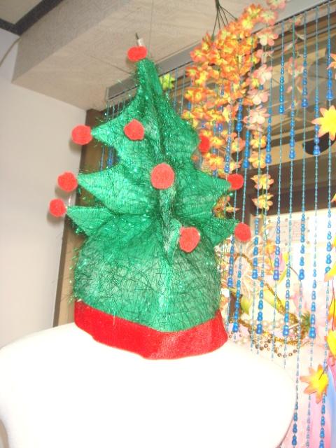 帽子-10-聖誕樹帽
