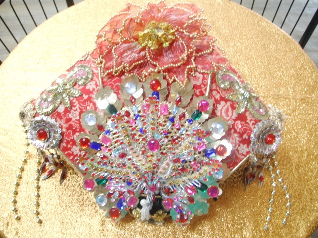帽子-16-孔雀牡丹皇后