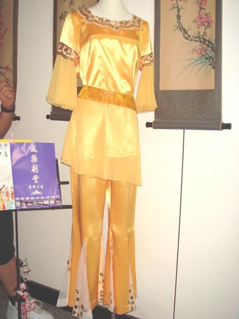 古裝-62-金邊敦煌舞衣