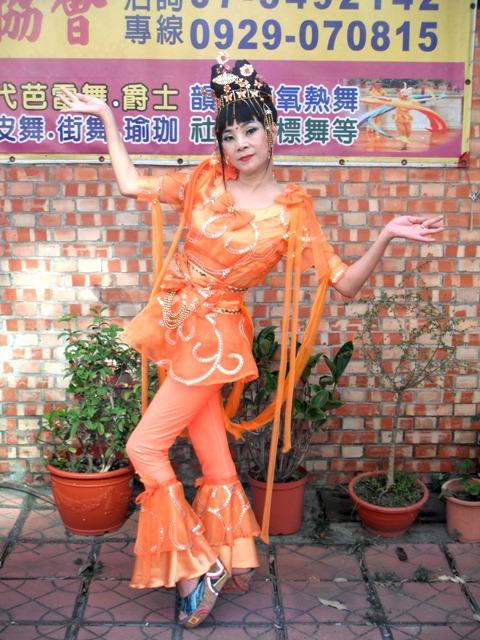 古裝-84-橘蝴蝶敦煌舞衣