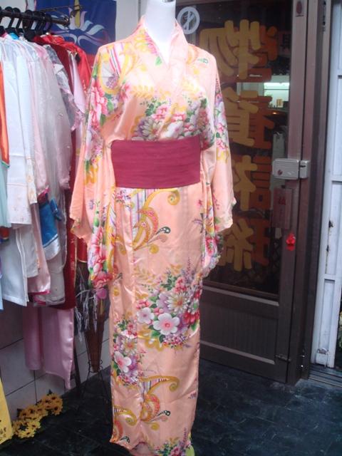 日韓-18-晚霞花和服