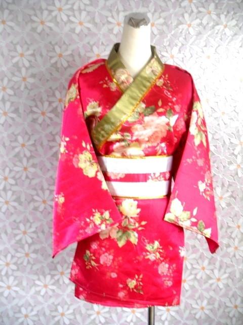 日韓-7-春花短和服