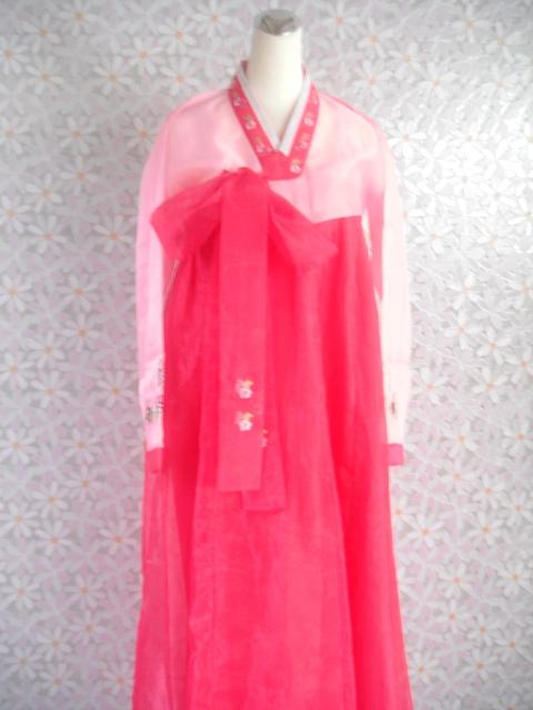 日韓-15-桃紅韓服