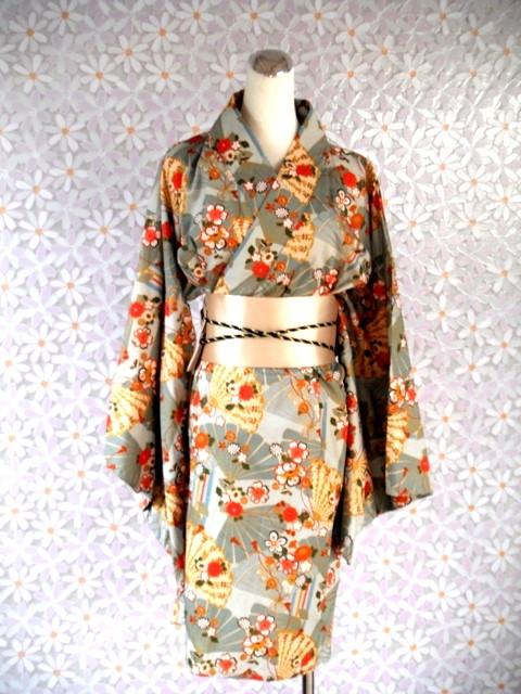 日韓-26-樸花短和服