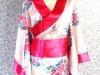 日韓-14-粉色短和服