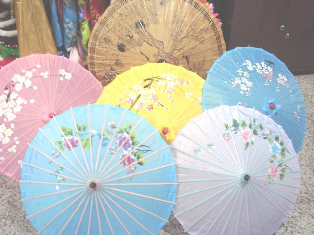 道具-10-各色古典傘