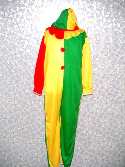 萬聖節-10-小丑裝