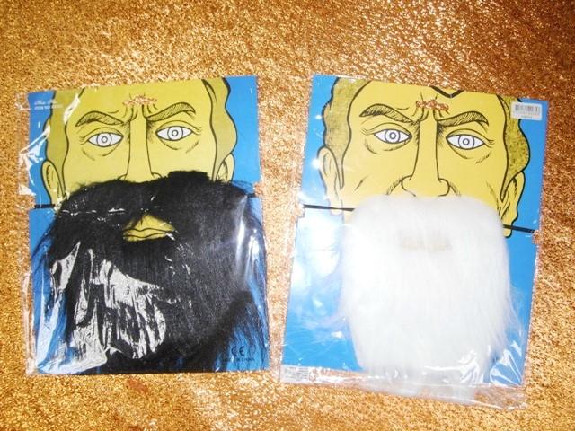 萬聖節-26-黑白假鬍子
